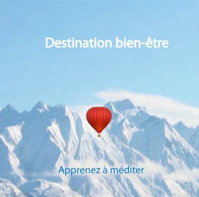 """Cd de méditations guidées """"Destination Bien Être"""""""