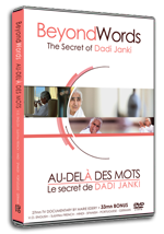 "DVD sur Dadi Janki ""Au delà des mots"""