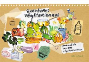 Aventures végétariennes - couverture du livre de recettes
