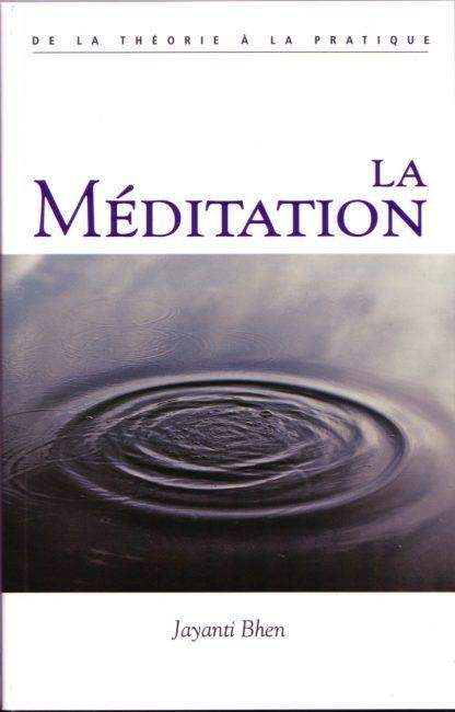 Couverture du livre La méditation de Jayanti Kripalani